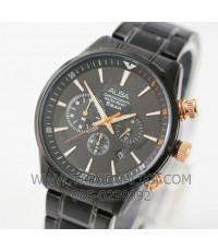 นาฬิกา ALBA Active Sport Chronograph Gent AT3629X1 black ip