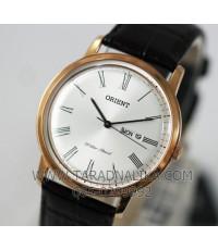 นาฬิกา Orient ควอทซ์ FUG1R006W สายหนัง