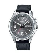 นาฬิกา CASIO  illuminator  MTP-E201L-8BVDF สายหนัง