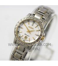 นาฬิกา SEIKO premier diamond lady SXDG58P1 กระจกแซฟไฟร์ เพชรแท้