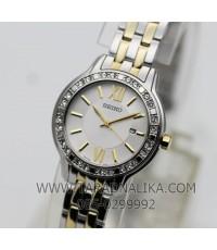 นาฬิกา SEIKO modern lady crystal ควอทซ์ SXDG73P1 สองกษัตริย์