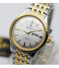 นาฬิกา Olym pianus classic automatic 990-14AM สองกษัตริย์ หน้าปัดขาว