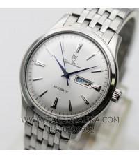 นาฬิกา Olym pianus classic automatic 990-14AM หน้าปัดขาว