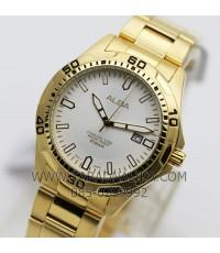 นาฬิกา ALBA Smart gent AG8G70X1 เรือนทองชาย