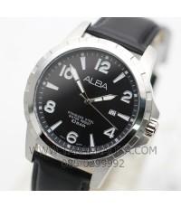 นาฬิกา ALBA Smart gent AG8G63X1 สายหนังสีดำ