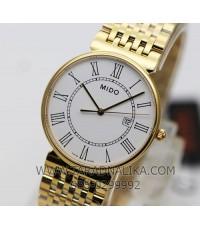 นาฬิกา MIDO Dorada Gent quartz M009.610.33.013.00 เรือนทอง