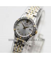 นาฬิกา SEIKO modern lady crystal ควอทซ์ SUR732P1 สองกษัตริย์