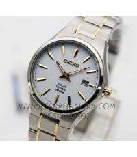นาฬิกา SEIKO SOLAR Titanium SNE379P1 นาฬิกาพลังงานแสง