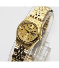 นาฬิกา SEIKO 5 Automatic for ladies SYMA38K1 เรือนทอง