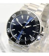 นาฬิกา Oris Aquis Date 73377304135 New DeepBlue dial