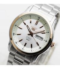 นาฬิกา SEIKO 5 Automatic SNKP12K1 new size