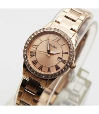 นาฬิกา ALBA modern ladies AH7N14X1 เรือนทอง pinkgold