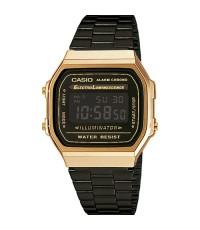 นาฬิกา CASIO DIGITAL A168WEGB-1BDF สีดำทองใหม่