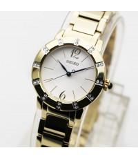 นาฬิกา SEIKO Crystal lady ควอทซ์ SRZ454P1  เรือนทอง
