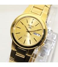 นาฬิกา SEIKO 5 Automatic SNKA10K1 เรือนทอง
