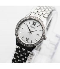 นาฬิกา SEIKO modern lady crystal ควอทซ์ SUR695P1