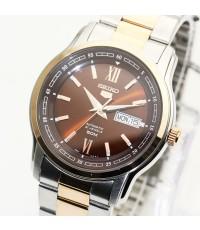 นาฬิกา SEIKO 5 Automatic SNKP18K1 new size สองกษัตริย์ pinkgold