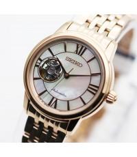 นาฬิกา SEIKO Presage Automatic lady SSA848J1  pinkgold