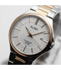 นาฬิกา ALBA Smart gent sapphire  AS9B38X1 สองกษัตริย์ pinkgold