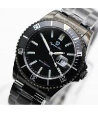 นาฬิกา Olympia Star sapphire  submariner 899831.TG-204 หลอดแก็ส รมดำ King size