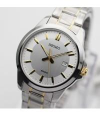 นาฬิกา SEIKO ควอทซ์ Gent หรูเรียบ ภูมิฐาน SUR247P1 สองกษัตริย์