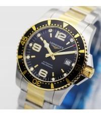 นาฬิกา Longines HydroConquest automatic L3.742.3.56.7 สองกษัตริย์