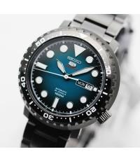 นาฬิกา SEIKO 5 Sports Automatic SRPC65K1 Black IP