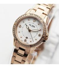 นาฬิกา ALBA modern ladies AH7R26X1 เรือนทอง pinkgold
