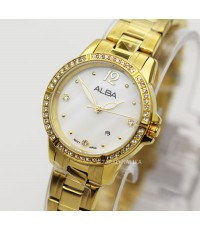 นาฬิกา ALBA modern ladies AH7R28X1 เรือนทอง