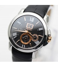 นาฬิกา SEIKO Premier Kinetic  SNP149P1 Auto relay