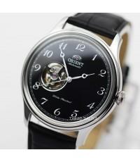 นาฬิกา Orient Automatic Semi skeleton สายหนัง ORRA-AG0016B
