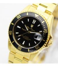 นาฬิกา Olym pianus Automatic submariner sapphire 89983AM-434 เรือนทอง