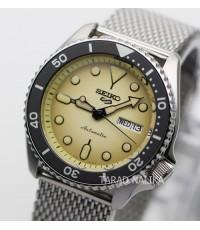 นาฬิกา SEIKO 5 Sports New Automatic SRPD67K1 (Cream Dial)