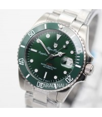 นาฬิกา Olym pianus Automatic submariner Ceramic sapphire 899831AG-434 Green dial