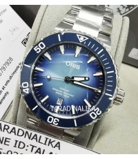 นาฬิกา Oris Aquis Lake Baikal limited edition 73377304175SET