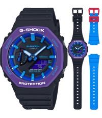 นาฬิกา CASIO G-Shock Carbon Core Guard GA-2100THS-1ADR (ประกัน CMG)