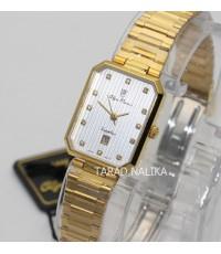 นาฬิกา Olym pianus sapphire lady 2485L-406E เรือนทอง