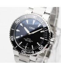 นาฬิกา Oris Aquis Date 73377304154 New Black dial