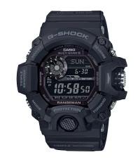 นาฬิกา G-Shock Rangeman GW-9400-1BDR เข็มทิศ บอกอุณหภูมิ radio control (ประกันcmg)