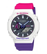 นาฬิกา CASIO G-Shock Carbon Core Guard GA-2100THB-7ADR (ประกัน CMG)