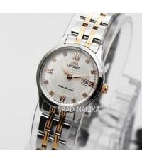 นาฬิกา Orient sapphire crystal lady  ORSZ43001W สองกษัตริย์ pinkgold