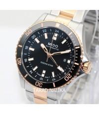 นาฬิกา Mido Ocean Star GMT M026.629.22.051.00 สองกษัตริย์ pinkgold