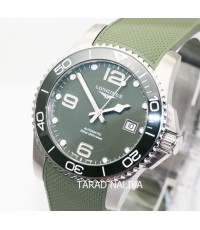 นาฬิกา Longines Hydro Conquest automatic ceramic L3.781.4.06.9 Green