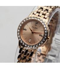 นาฬิกา ALBA modern ladies AH7U72X1 pinkgold