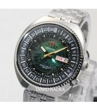 นาฬิกา Orient World Map Automatic  รุ่น ORRA-AA0E02E
