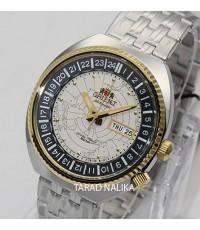 นาฬิกา Orient World Map Automatic  รุ่น ORRA-AA0E01S สองกษัตริย์
