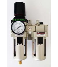 ชุดกรองลมปรับแรงดัน Filter Regulator  FR.L รุ่น AC5010-06