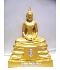 พระบูชาหลวงพ่อพระพุทธโสธร หน้าตัก 5 นิ้ว ( พ่นทอง )