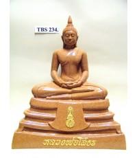 พระบูชาหลวงพ่อพระพุทธโสธร หน้าตัก 7 นิ้ว ( เนื้อกระเบื้อง )