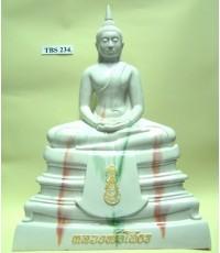 พระบูชาหลวงพ่อพระพุทธโสธร หน้าตัก 9 นิ้ว ( ลายหินอ่อน )